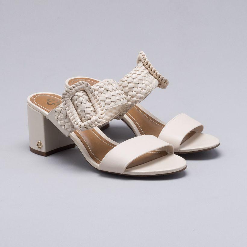 763fb77397 Sapatos - Tamanco Bloco Branco – capodarte