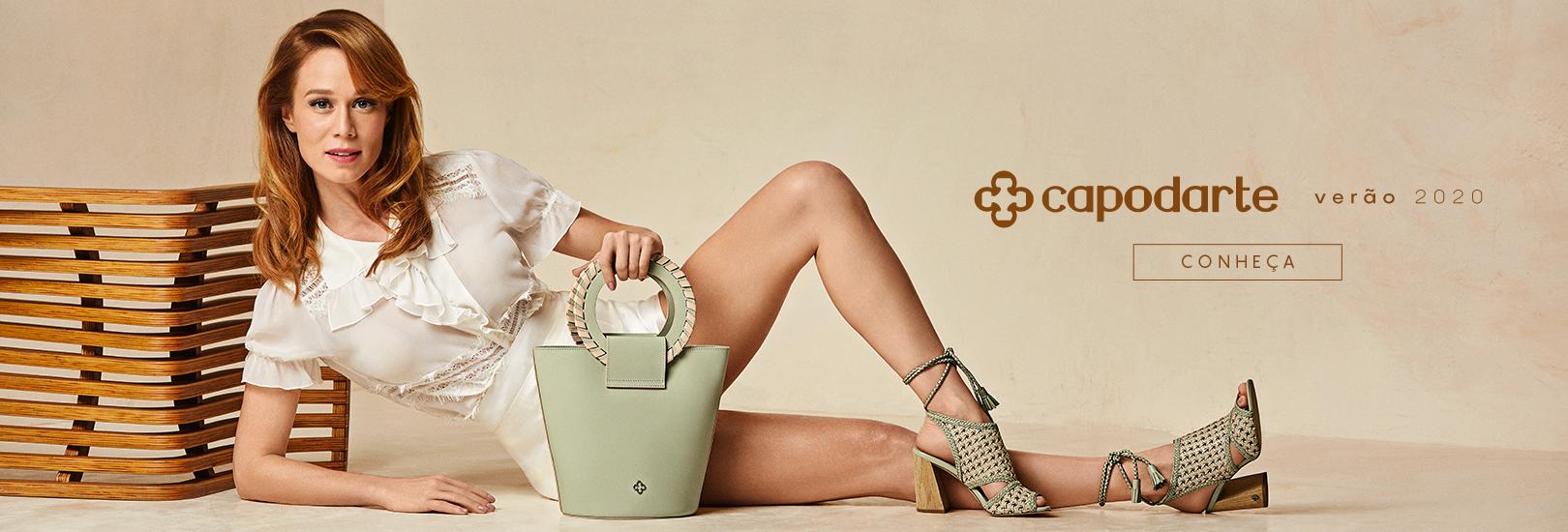 ed8083ec39 Capodarte   Sapatos, Bolsas e Acessórios